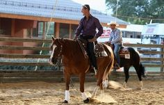 Former F1 World Champion Michael Schumacher - a natural in the saddle #horses