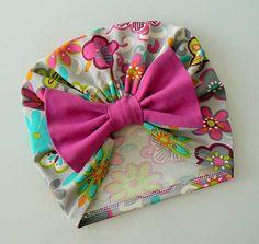 Turban s kvetmi / Ciapockovo - SAShE. Turban, Child, Band, Sewing, Accessories, Fashion, Moda, Boys, Sash