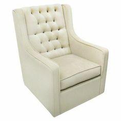 Rockabye Glider Co. Bella Velvet Grand Glider Chair - Buckwheat