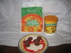Vintage Fisher Price Pizza Set
