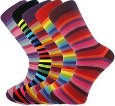 Mysocks - 5 paia di calze da uomo a strisce, misura da 38... https://www.amazon.it/dp/B00AS04ZI0/ref=cm_sw_r_pi_dp_qR-uxb8EM0SD8