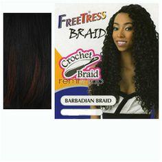 Mon Nov 23, 2015 - #7: Freetress Barbadian Braid  - Color TP1B/350 - Synthetic Braiding
