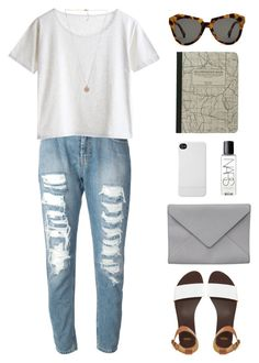 """""""A"""" by pastelised ❤ liked on Polyvore featuring ASOS, Twin-Set, MTWTFSS Weekday, Michael Kors, Incase, NARS Cosmetics, Karen Walker and Ann Demeulemeester"""