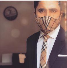 Foto @vhgravatas Mouth Mask Fashion, Fashion Face Mask, Nose Mask, Cool Masks, Fascinator Hats, Photoshoot, Mens Fashion, Style, Ideas