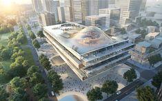 Gallery of Büro Ole Scheeren Imagines ZTE Headquarters, a New Symbol for China's Digital Revolution - 1