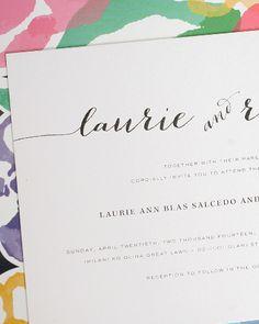 Rustic Wedding Invitations. Love the hand-drawn calligraphy! #rusticweddinginvitations #rusticwedding #calligraphy #shineweddinginvitations