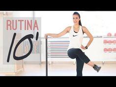 """Rutina de ejercicios 10 minutos """" Piernas y glúteos"""" - YouTube"""
