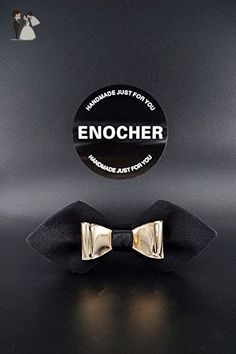 Shiny Gold Metal Inlaid Black Bow Tie,Men Bow Tie,Self Tie Bow Tie,Bow Tie For Men,Gentleman,Business,Wedding,Party,Gift,Fashion,High-end - Groom ties (*Amazon Partner-Link)