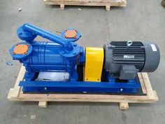 Stainless steel two liquid ring vacuum pump applied to citric acid industry