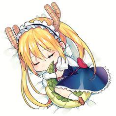 kobayashi-san chi no maid dragon elma chibi Loli Kawaii, Kawaii Chibi, Cute Chibi, Kawaii Anime, Manga Anime, Anime Ai, Anime Naruto, Desu Desu, Kobayashi San Chi No Maid Dragon