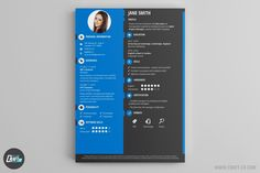 These Resume Templates will surely help you find a job! The Best Resume Builder with creative Resume Samples. Professional Cv Examples, Professional Resume, Resume Examples, Cv Maker, Resume Maker, Creative Cv Template, Simple Cv, Online Cv, Resume Builder