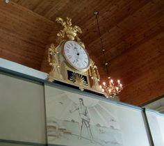 Ilmajoen kirkon Könnin kellolla on kokoa. Kello valmistettu 1817. Valtakunnan ehkä komein Könnin kello. (Kuva:Jari  Laurila:2013)