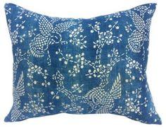 Sky Lark Batik Pillow