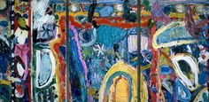 Enlarged Picture: Oil Painting - A Midsummer Night - Birmingham Museums & Art Gallery Information Centre Abstract Painters, Abstract Art, Birmingham Museum, Museum Art Gallery, Painting Collage, Great Paintings, Textile Prints, American Artists, Online Art Gallery