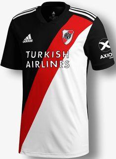 Soccer Kits, Football Kits, Camisa Do River Plate, Jersey Atletico Madrid, Soccer Uniforms, Jersey Designs, Carp, Grande, American Football