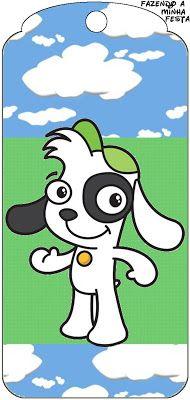 Doki Discovey Kids - Kit Completo com molduras para convites, rótulos para guloseimas, lembrancinhas e imagens!