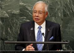 Amid political and investor fears, sources say Abu Dhabi fund may spurn RHB's RM2.5b rights issue. | Prime Minister Datuk Seri Najib Razak addresses a plenary meeting of the United Nations Sustainable Development Summit 2015 at the United Nations headquarters in Manhattan, New York September 27, 2015. — Reuters pic
