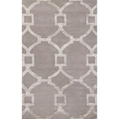 Shop for Hand-Tufted Contemporary Geometric Pattern Grey (8' x 11') Area Rug. Get free shipping at Overstock.com - Your Online Home Decor Outlet Store! Get 5% in rewards with Club O!