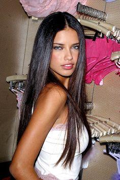 Beautiful Examples of Long Dark Hair