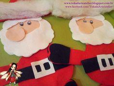 Toka da Arte Atelier: Hô, hô, hô! O Natal vem aí!