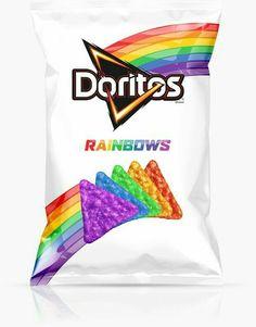 Rainbow doritos!!!!!! OMG!!!!!!! WHERE DO YOU BUY THESE