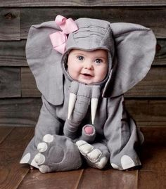 Boyle Nash Pierce Will You Take Pictures Of My Future Child in An Elephant Costume So i Can Frame it And Give it Too You? You Know Cause Your God Child in An Elephant Costume Would Be The Greatest Thing Ever? So Cute Baby, Baby Kind, Cute Kids, Cute Babies, Baby Baby, Baby Dumbo, Funny Babies, Halloween Bebes, Baby Elephants