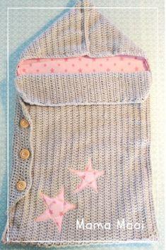 Double Crochet, Single Crochet, Crochet For Kids, Free Crochet, Baby Sleeping Bag Pattern, Softies, Crochet Cocoon, Alpaca, Baby Cocoon