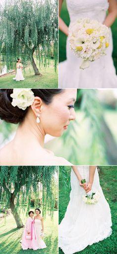 bridal bouquet looove