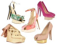 Shop Charlotte Olympia for the first time ever (right now!) on The Outnet
