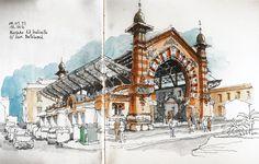 málaga, mercado del molinillo by luis ruiz, via flickr
