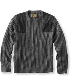 #LLBean: Men's PrimaLoft/Wool Shooter's Sweater