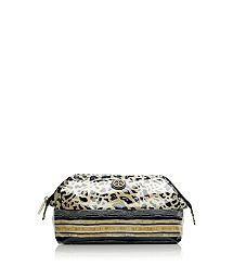 #toryburch Make Up Bag LARGE MOLDED COSMETIC