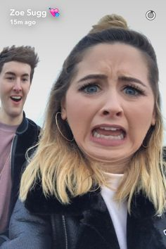 Zoe and Mark Mark Ferris, Zoe Sugg, Vlog Squad, Zoella, Girl Online, Role Models, Youtubers, Love Her, Snapchat