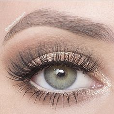 """Simple everyday look by ✨@iheartmakeupart✨ with #FlutterLashes in """"Lindsay"""" from our Evening Collection   BROWS: @anastasiabeverlyhills brow wiz pencil  EYES:: Urban Decay NAKED palette and @colourpopcosmetics """"amaze"""" shadow. Waterline: @tarte cosmetics inner rim liner. ✨Visit us at FlutterLashes.com✨ #Padgram"""