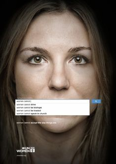 Une très bonne campagne print contre les préjugés sur les femmes