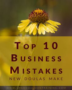 10 Common Business Mistakes New Doulas Make - Utah Doulas in Training Doula Business, Mistakes, Utah, Birth, Training, Being A Mom, Work Outs, Excercise, Onderwijs