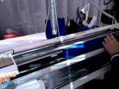 МК часть 2 вяжем платье на вязальной машине - YouTube
