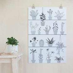 Poster Botanic – Audrey Jeanne