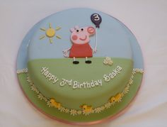 Peppa Pig Cake | My 2nd Peppa Pig cake of the week! This one… | Flickr