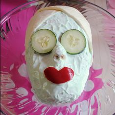 spa bridal shower cake