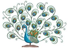 Lovely Peacock Bird Decor If You Like Impressive Peacock Decor, You Will  Love Our New Lovely Peacock Bird! This Striking Metal Peacock Bird Is Ready  To Make ...