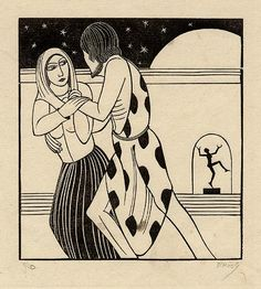 Let us fare forth into the fields by Eric Gill