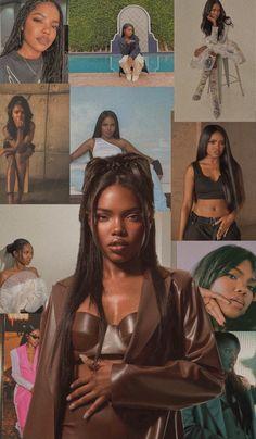 Black Love Art, Beautiful Black Girl, Black Girl Art, Black Girl Magic, Black Girls, Black Aesthetic Wallpaper, Black Girl Aesthetic, Brown Aesthetic, Boujee Aesthetic