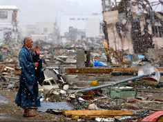 Japanese monk pray for 3.11 earthquake victims