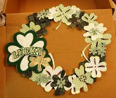 Shamrocks & Clovers Wreath, St. Patrick's Day Crafts