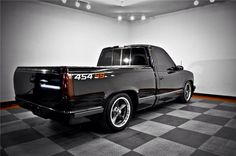 Shaved, Chevy, Chevrolet, GMC, 454SS