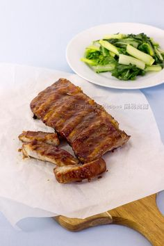 焗燒排骨【舔手指吃】Sticky Baked Pork Rib from 簡易食譜