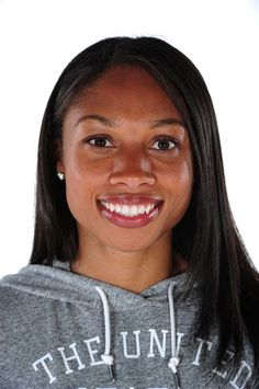 Track and field athlete Allyson Felix