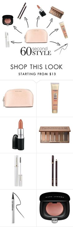 """""""#24"""" by julianamchd ❤ liked on Polyvore featuring beauty, MICHAEL Michael Kors, L'Oréal Paris, MAC Cosmetics, Urban Decay, Lancôme, Tom Ford, Bare Escentuals and Marc Jacobs"""