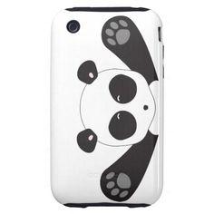 Panda Hugs Tough Iphone 3 Cover